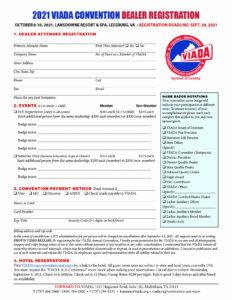 VIADA CON Dealer Registration